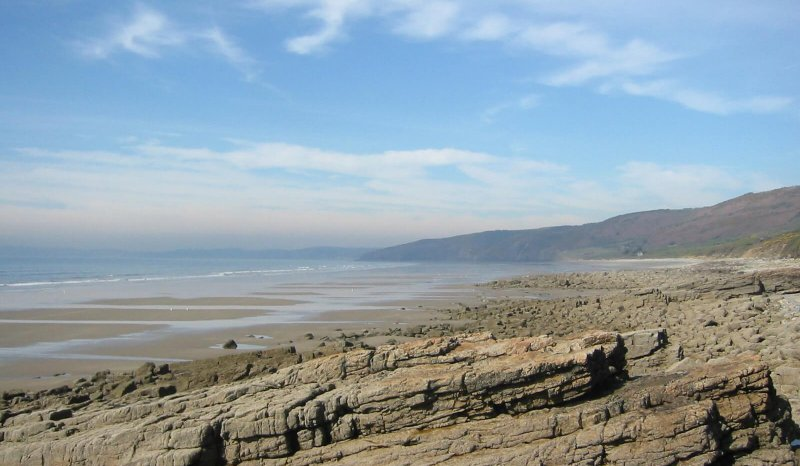Namurian Middle Shale Group, Marros Sands to Telpyn Point, S Wales