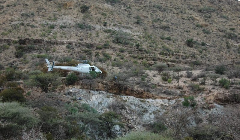 Helicopter Based Remote Field Survey, Eastern Ethiopia