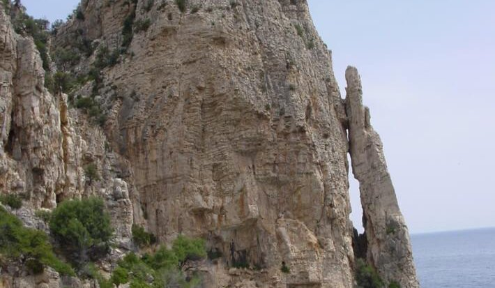Callovian – Tithonian drowned outer platform carbonates and interbedded resedimented carbonate sands, Pedra Longa, eastern Sardinia