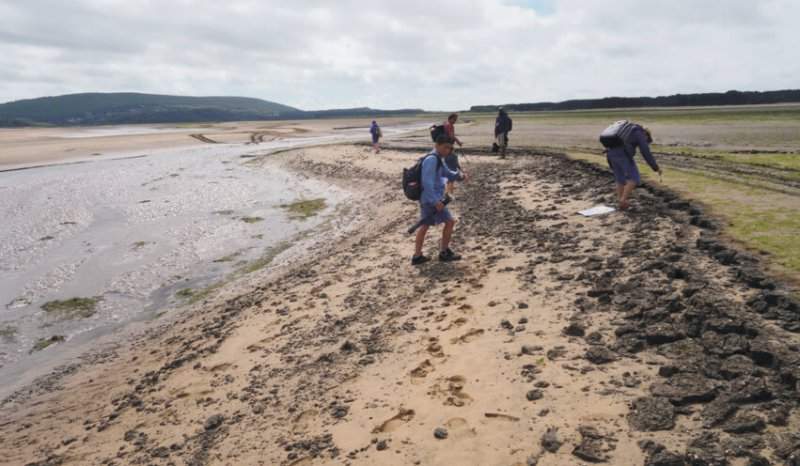 Oolithica Field seminar to Loughor Bay Estuary