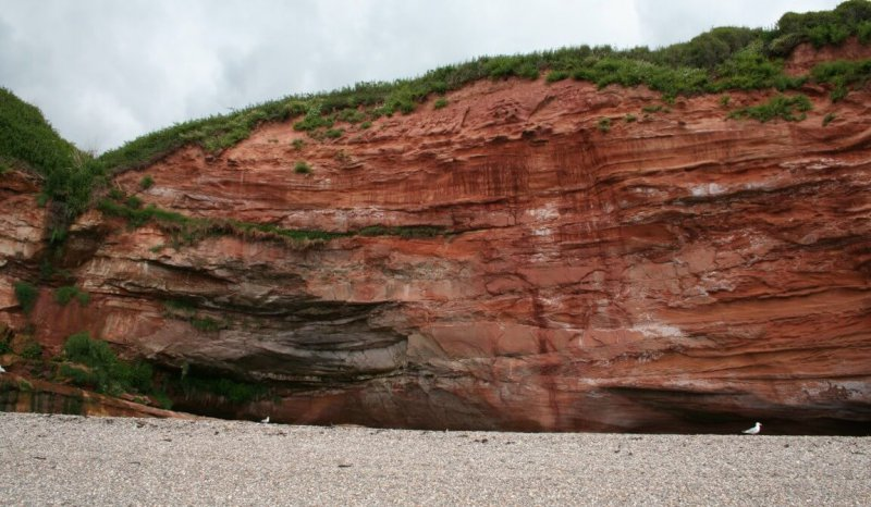 Ladram Bay Triassic Otter Sandstone outcrop provides reservoir grid scale analogues for interacting fluvial - aeolian systems