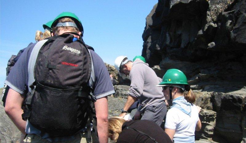 Geology fieldtrip to Clare Basin, Ireland