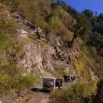 Geological fieldwork being undertaken in the foldbelts of Eastern India